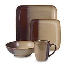 Eclipse Brown 16-Piece Dinnerware Set  sc 1 st  Bed Bath u0026 Beyond & Eclipse Brown Dinnerware and Nova Brown Open Stock - Bed Bath u0026 Beyond
