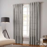 Designer's Select Claudia 95-Inch Back Tab Window Curtain Panel in Slate