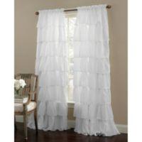 Gypsy 84-Inch Rod Pocket Window Curtain Panel in White