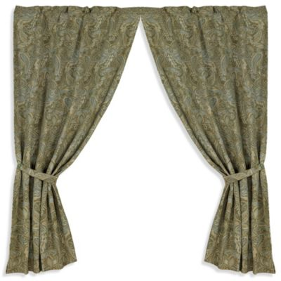 hiend accents arlington 84inch window curtain panel pair
