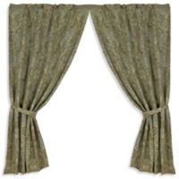HiEnd Accents Arlington 84-Inch Window Curtain Panel Pair