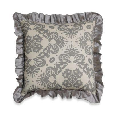 hiend accents kerrington ruffled european pillow sham