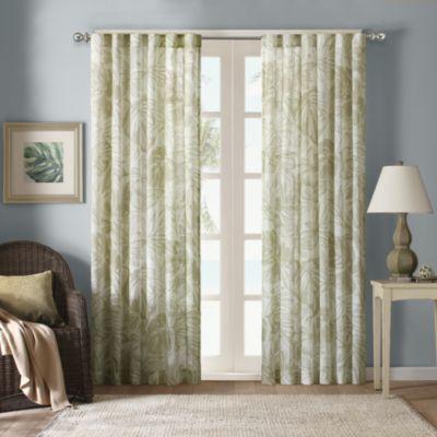 Palm Tree Window Curtains Avarii Org Home Design Best Ideas