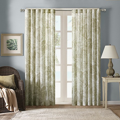 Harbor house palm sheer window curtain panels www - Bed bath and beyond palm beach gardens ...