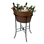 Artland® Oasis Oval Party Tub with Stand in Antique Copper