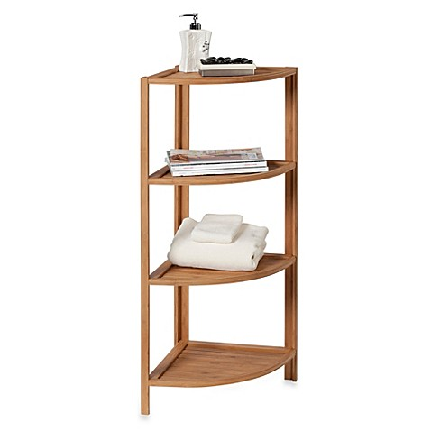 Bamboo Shelf Tower Bed Bath Beyond