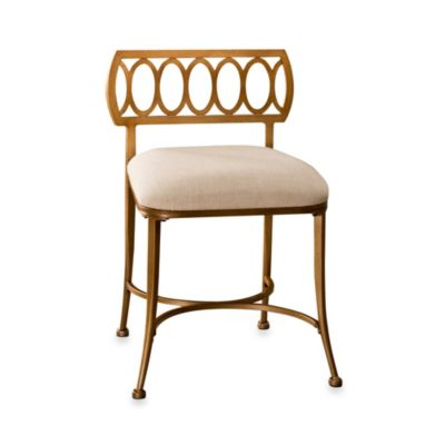 buy bronze vanity stool from bed bath & beyond