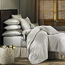 Barbara Barry Dream Petal Garden Duvet Cover In White