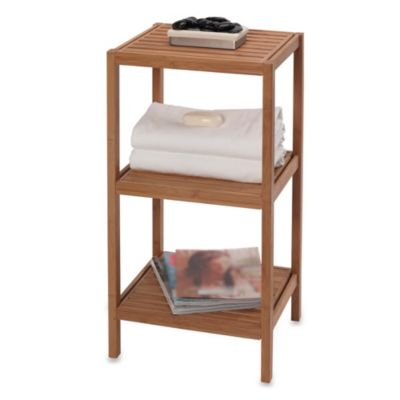 Buy Bamboo Bathroom Shelves from Bed Bath & Beyond