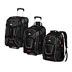 High Sierra® AT7 Luggage Collection in Black