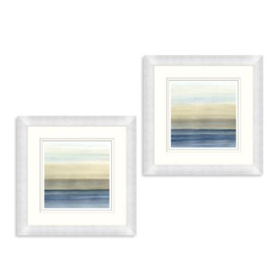 Silent Waves Framed Wall Art Bed Bath Amp Beyond