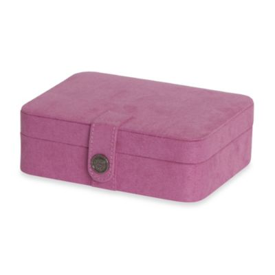 Giana Jewelry Box in Pink  sc 1 st  Bed Bath u0026 Beyond & Buy Fabric Storage Boxes from Bed Bath u0026 Beyond