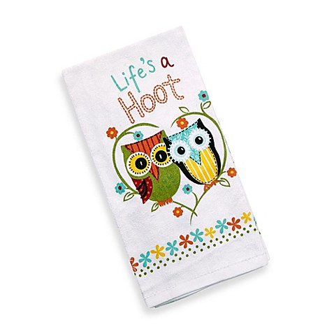 kitchen towel designs designs s a hoot kitchen towel bed bath 3378