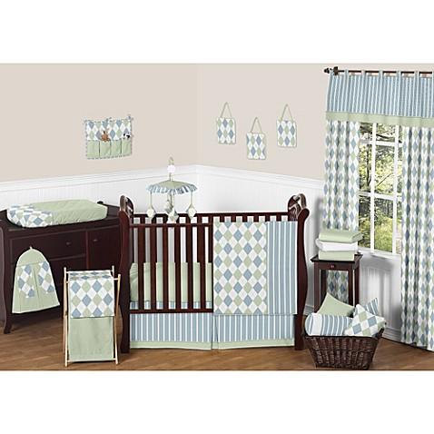 Argyle Crib Bedding