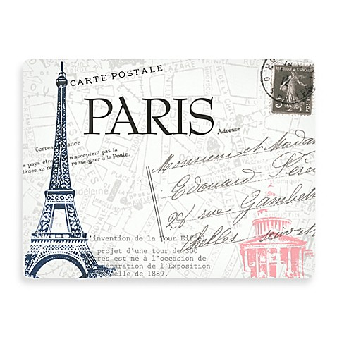 Design House LA™ Paris Hardboard Placemats (Set of 2)