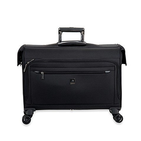 buy delsey helium x 39 pert lite 2 0 22 inch carry on spinner trolley garment bag in black from bed. Black Bedroom Furniture Sets. Home Design Ideas