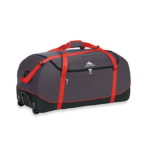 Buy High Sierra 36 Inch Wheel N Go Duffle Bag In Red From