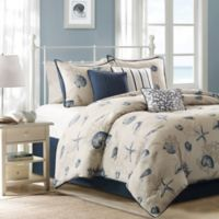Madison Park Bayside 7 Piece Queen Comforter Set