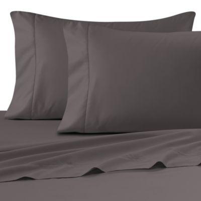 Wamsutta® Ultra Soft Sateen 525 Thread Count Standard Pillowcase Pair In  Grey