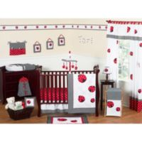 Sweet Jojo Designs Ladybug 11-Piece Crib Bedding Set