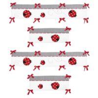 Sweet Jojo Designs Ladybug Crib Bumper