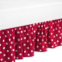 Sweet Jojo Designs Ladybug Toddler Bed Skirt