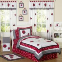 Sweet Jojo Designs Polka Dot Ladybug Pillow Sham