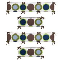 Sweet Jojo Designs Designer Dot Crib Bumper