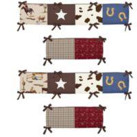Sweet Jojo Designs Wild West Crib Bumper