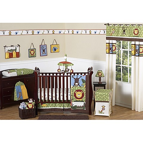 Baby Jungle Crib Bedding