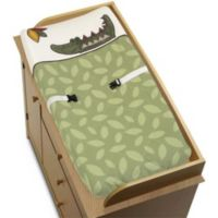 Sweet Jojo Designs Jungle Time Changing Pad Cover