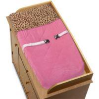 Sweet Jojo Designs Cheetah Girl Changing Pad Cover