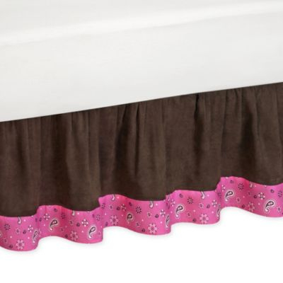 Buy Chocolate Brown Bed Skirt From Bed Bath Amp Beyond
