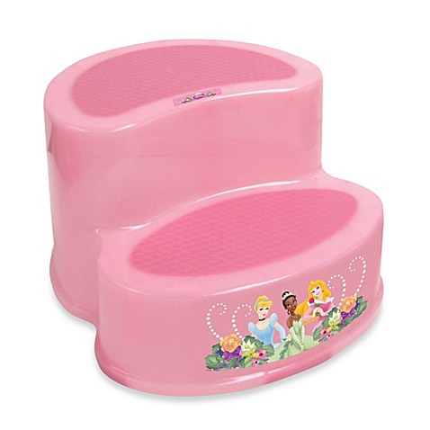Ginsey Disney 174 Princess 2 Tier Step Stool Buybuy Baby