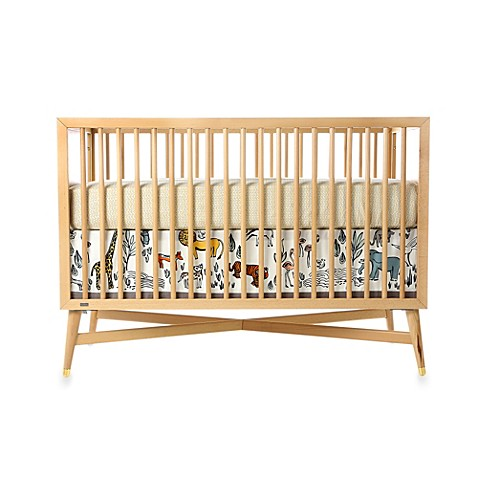 dwellstudio crib skirt in safari buybuy baby