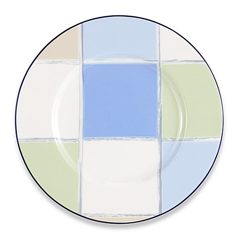 Java Blue 9-Inch Accent Plate