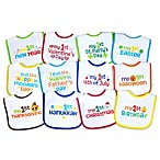 Neat Solutions® 12-Pack Baby's 1st Year Holiday Bib Set