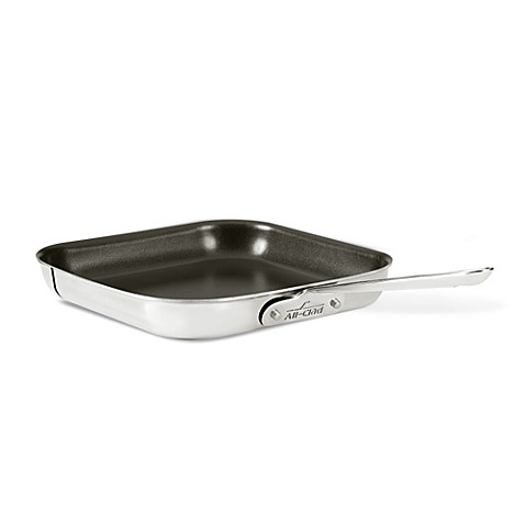 All Clad Stainless Steel Nonstick 11 Inch Griddle Pan Bed Bath Beyond