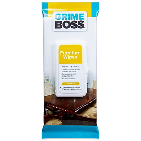 Grime Boss® 18-Count Furniture Wipes