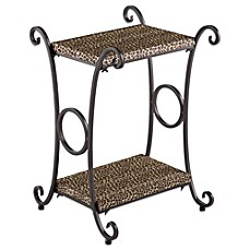 Harrow Animal Print Accent Table