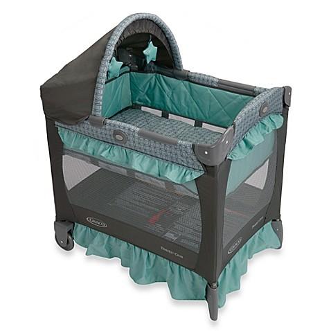 Graco 174 Travel Lite 174 Crib In Cascade Bed Bath Amp Beyond