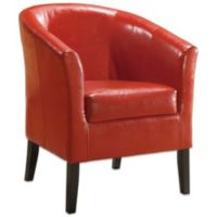 Simon Club Chair in Red