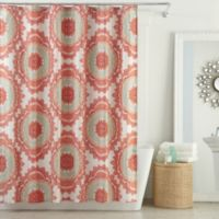 AnthologyTM Bungalow 72 Inch X 96 Shower Curtain In Coral
