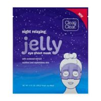 Clean & Clear® Night Relaxing® Jelly Eye Sheet Face Mask