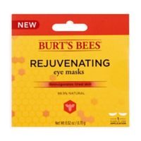 Burt's Bees® Rejuvenating Eye Masks with Rosehip Seed Extract and Jojoba Oil