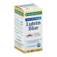 Nature's Bounty® 30-Count Lutein Blue Light Shield Eye Supplement Softgels