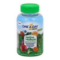One A Day® 110-Count Kid's with Nature's Medley™ Multiivitamin Gummies