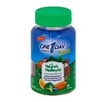 One A Day® 60-Count Men's with Nature's Medley™ Multivitamin Gummies
