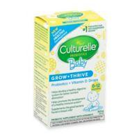 412cfa7f237f Culturelle® Baby .30 oz Grow   Thrive Probiotic   Vitamin D Drops