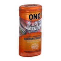 ONE® 12-Count Super Studs Condom